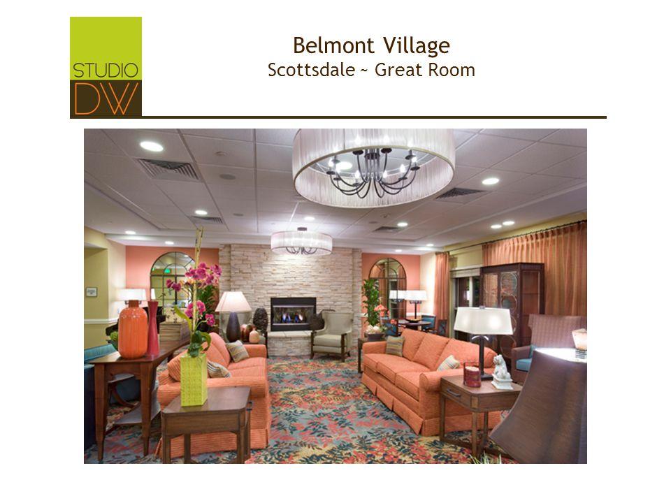Belmont Village Scottsdale ~ Great Room