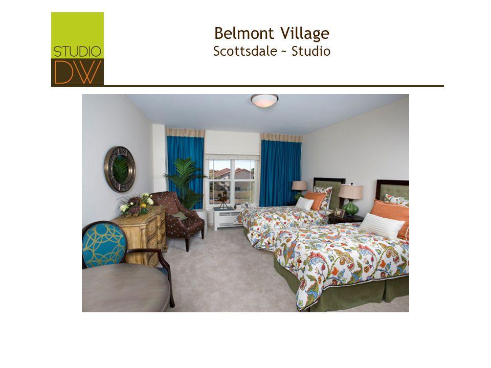 Belmont Village Scottsdale ~ Studio