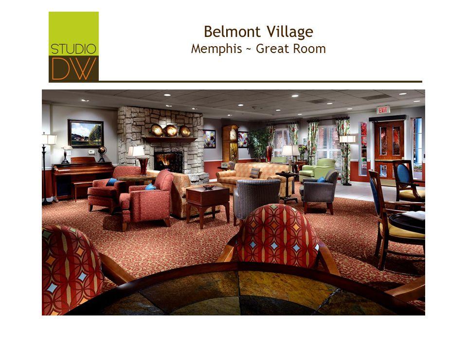 Belmont Village Memphis ~ Great Room