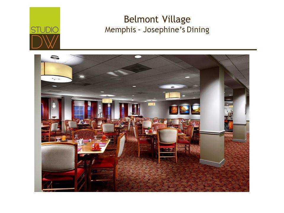 Belmont Village Memphis – Josephine's Dining