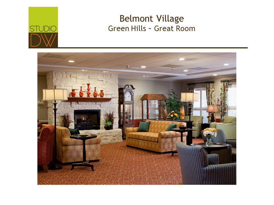 Belmont Village Green Hills ~ Great Room
