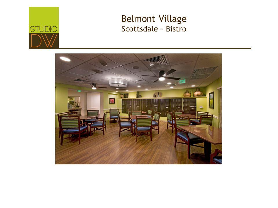 Belmont Village Scottsdale ~ Bistro
