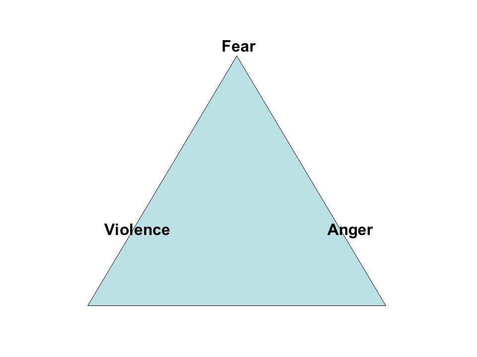 Fear Violence Anger