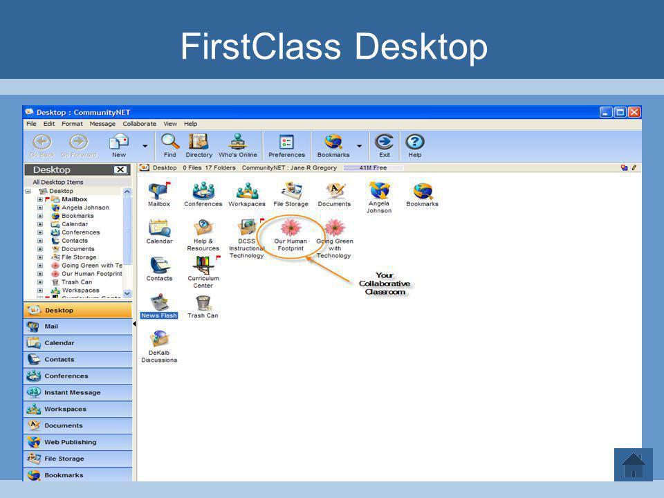 FirstClass Desktop