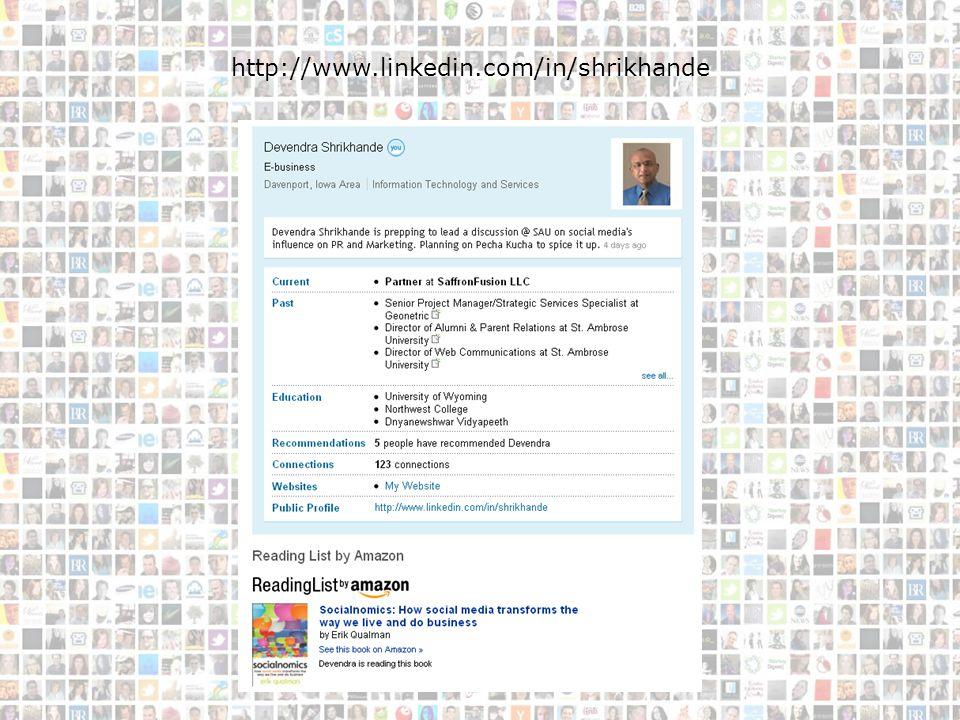 Devendra http://www.linkedin.com/in/shrikhande