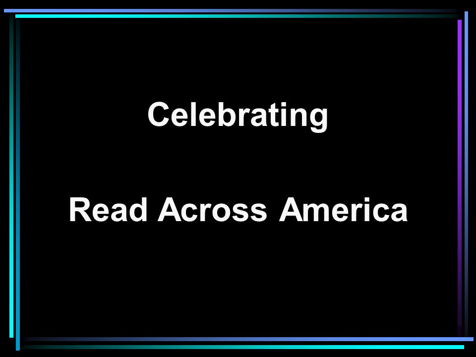 Celebrating Read Across America