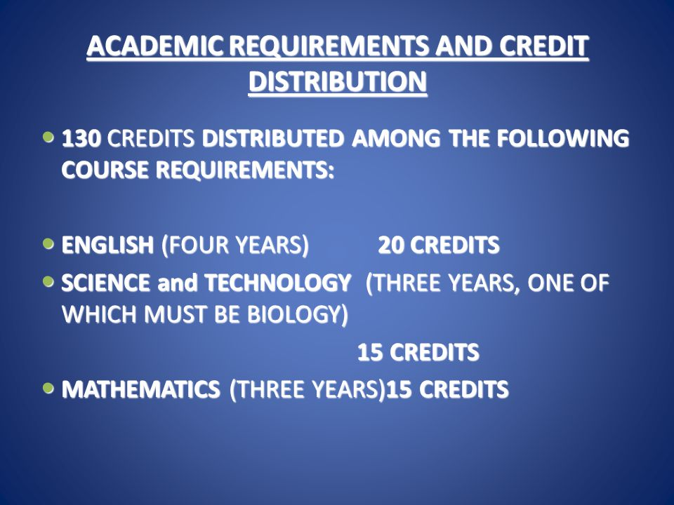 REQUIREMENTS Cont'd US HISTORY (TWO YEARS)10 CREDITS US HISTORY (TWO YEARS)10 CREDITS WORLD HISTORY(ONE YEAR) 5 CREDITS WORLD HISTORY(ONE YEAR) 5 CREDITS WORLD LANGUAGE (TWO YEARS IN SINGLE LANGUAGE) 10 CREDITS WORLD LANGUAGE (TWO YEARS IN SINGLE LANGUAGE) 10 CREDITS  PHYSICAL EDUCATION (FOUR SEMESTERS) 10CREDITS  FINE, PERFORMING, PRACTICAL ARTS (Four SEMESTERS) 10 CREDITS