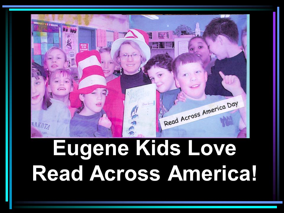 Eugene Kids Love Read Across America!