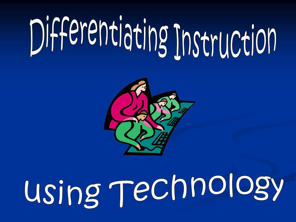 Differentiating Instruction A teacher's response to a learner's needs Click here to skip introductory slides