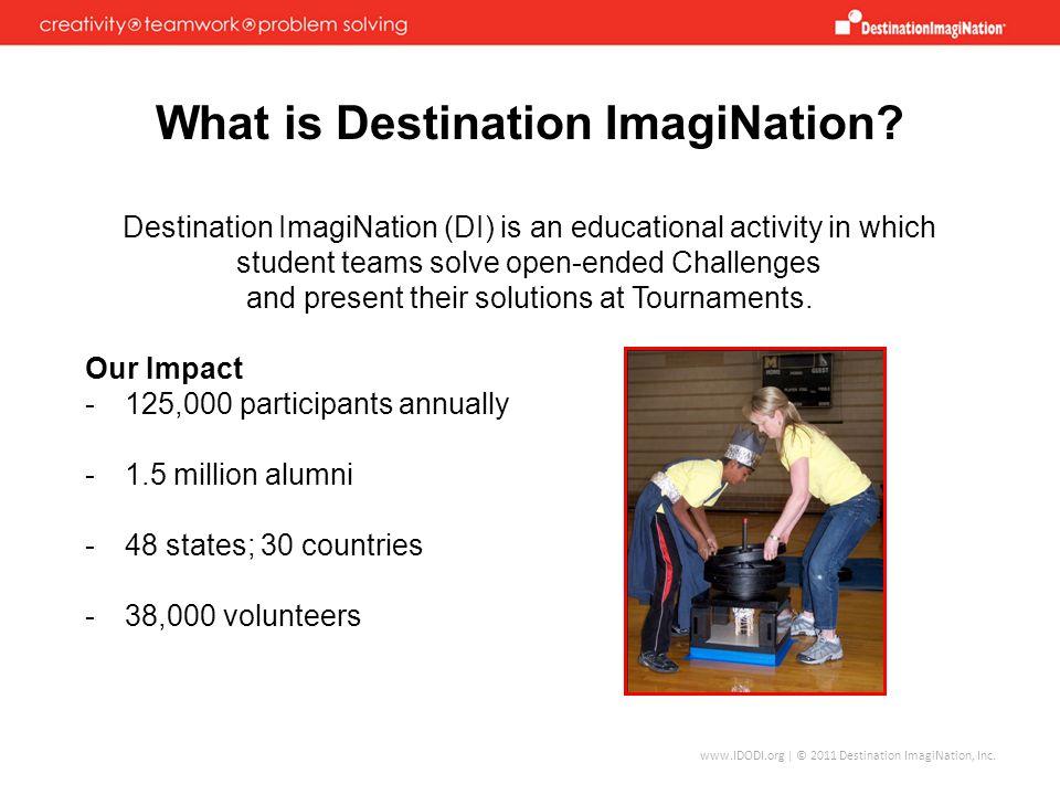 www.IDODI.org | © 2011 Destination ImagiNation, Inc.