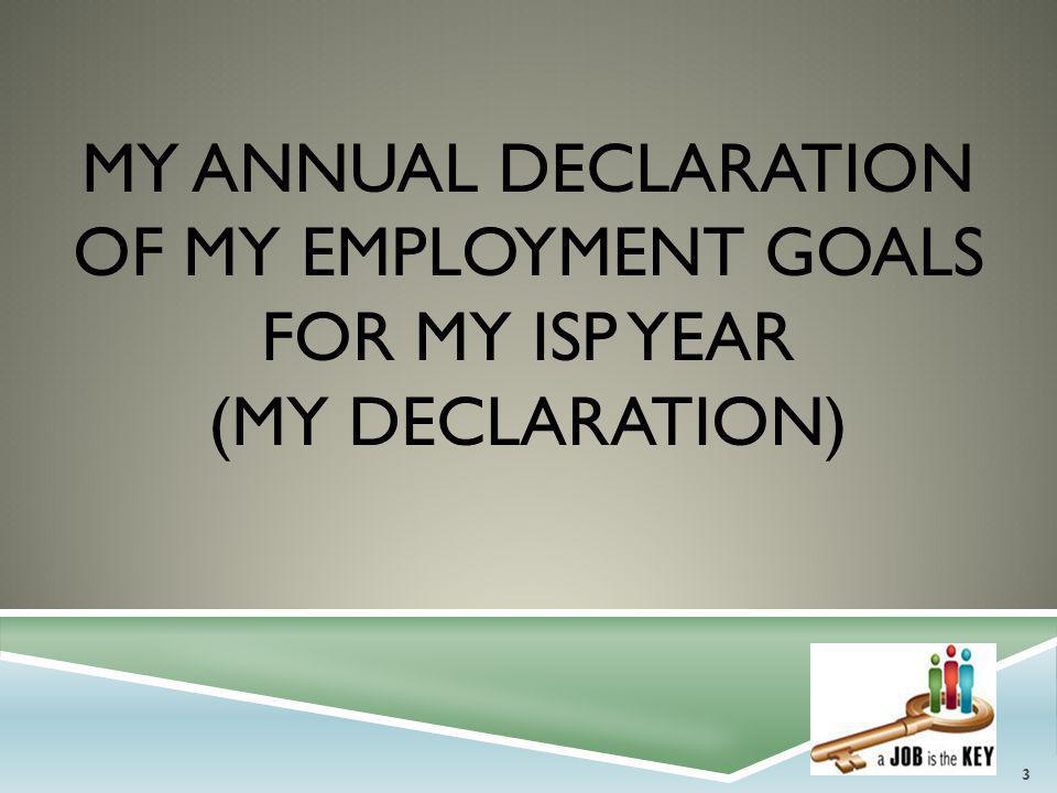 MY CAREER DEVELOPMENT PLAN & VOCATIONAL ASSESSMENT (CDP) 24