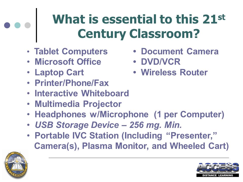 What is essential to this 21 st Century Classroom.