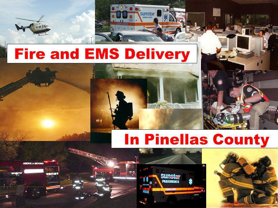 In Pinellas County Fire and EMS Delivery