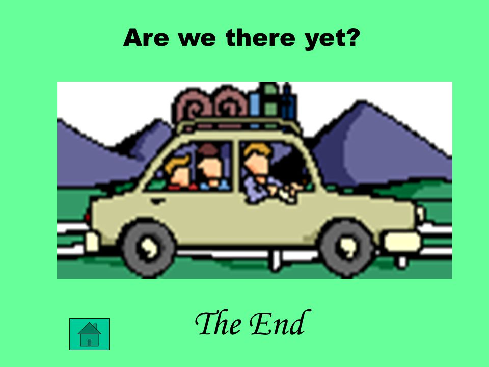 The End Are we there yet?