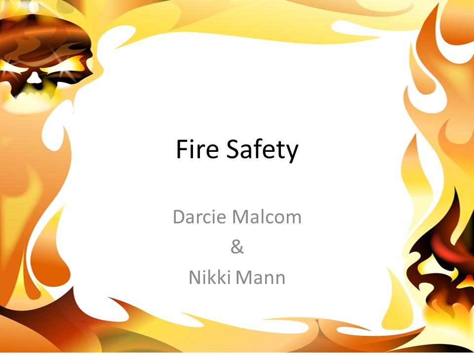 Darcie says, Knowing the proper exit is a main essential when it comes to gettting out safely when a building is on fire. -Pointing to exit sign, discussing importance of knowledge of exits