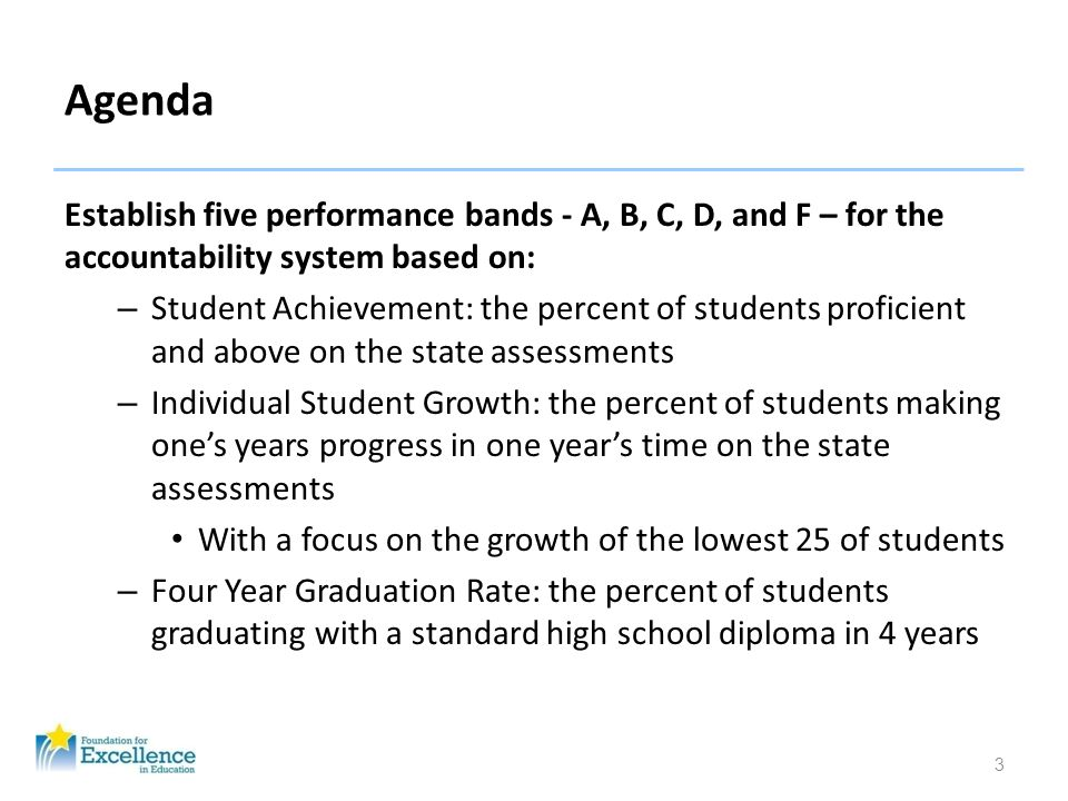 34 School Grading Postsecondary Readiness Cut Scores CPT Math72 Reading83 SAT Verbal440 Math440 ACT Reading18 Math19 P.E.R.T.