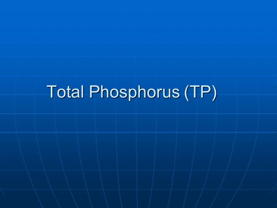 Total Phosphorus (TP)