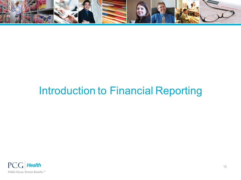 Introduction to Financial Reporting 15