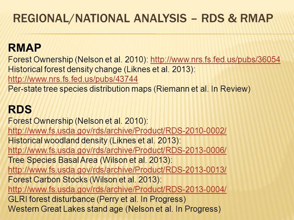 RMAP Forest Ownership (Nelson et al.