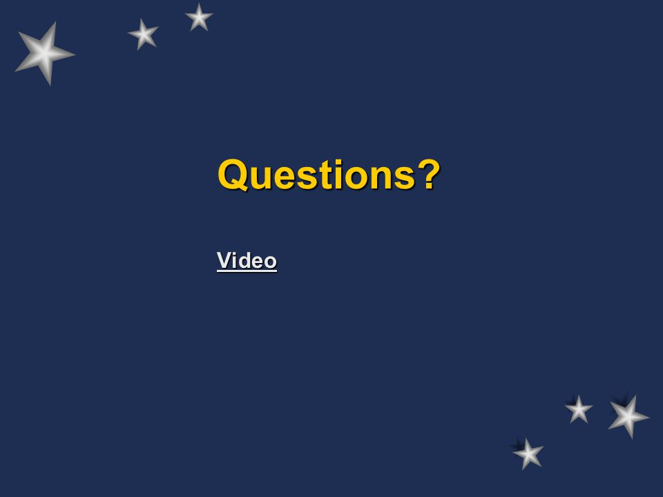 Questions Video Video