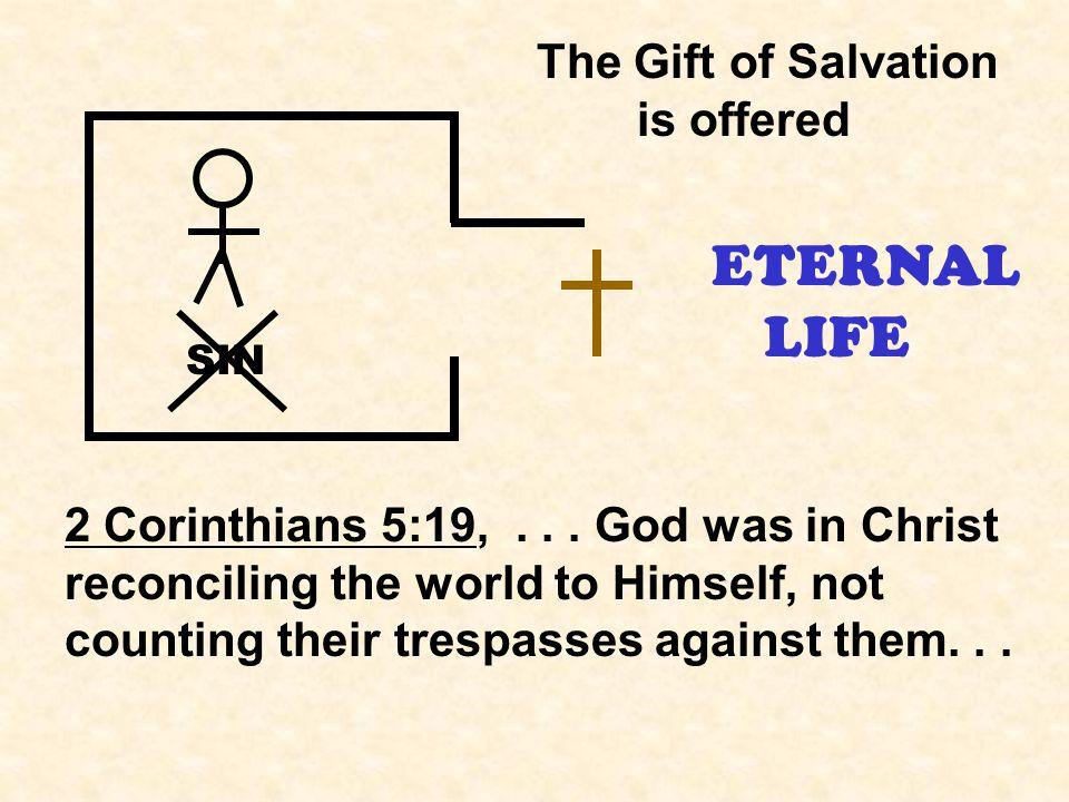 ETERNAL LIFE SIN 2 Corinthians 5:19,...