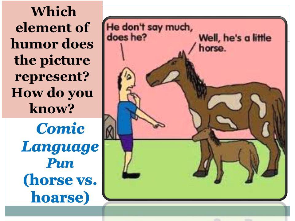Read the comic strip. Explain how it illustrates the term flip flop as a pun.