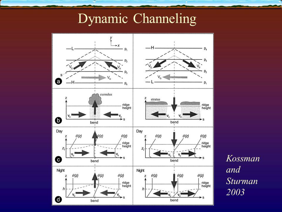 Dynamic Channeling Kossman and Sturman 2003
