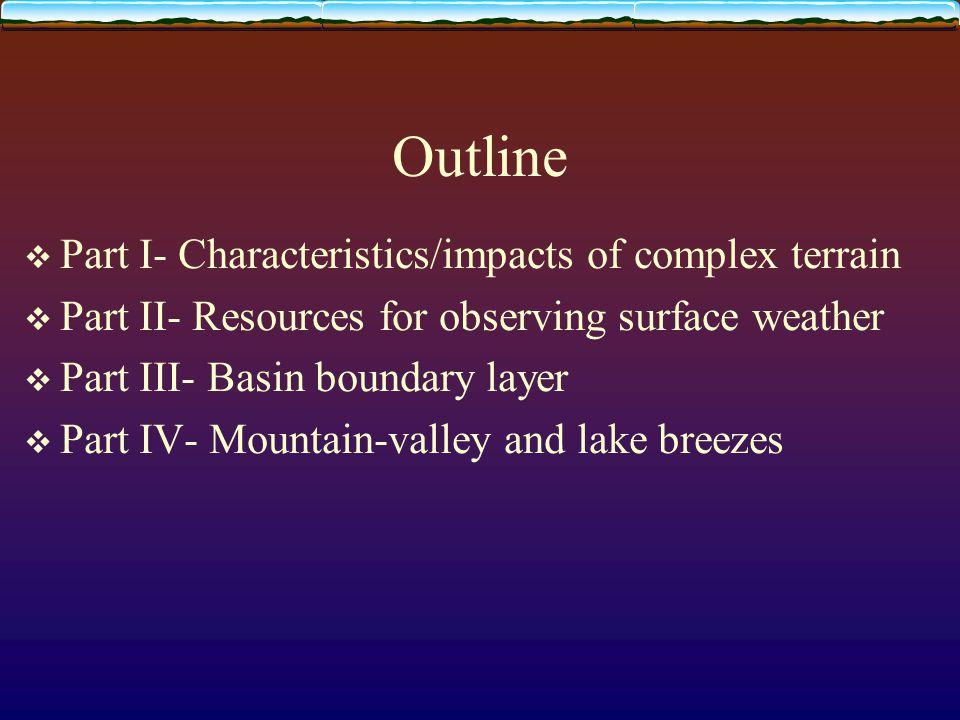 Diurnal fair weather evolution of bl over a plain Whiteman (2000)