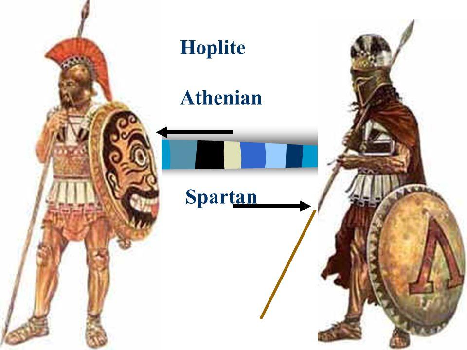 Hoplite Athenian Spartan