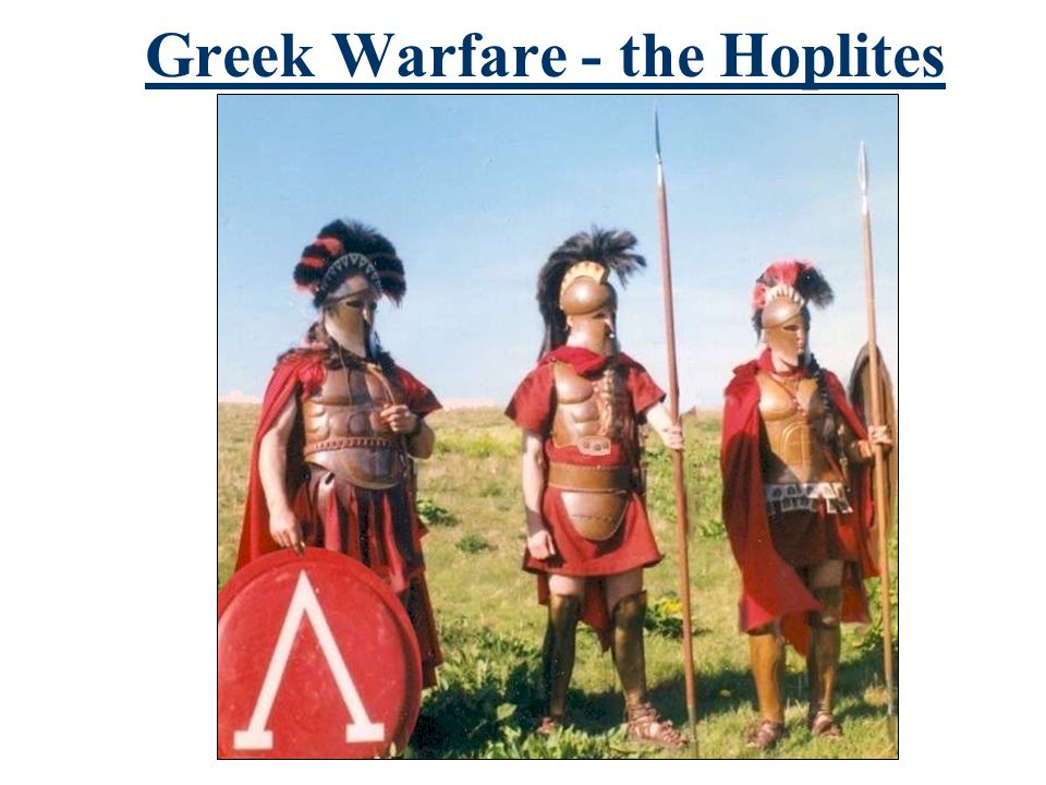 Greek Warfare - the Hoplites