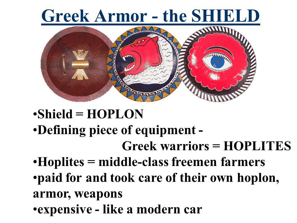 Hoplon 3 foot Greek Shield