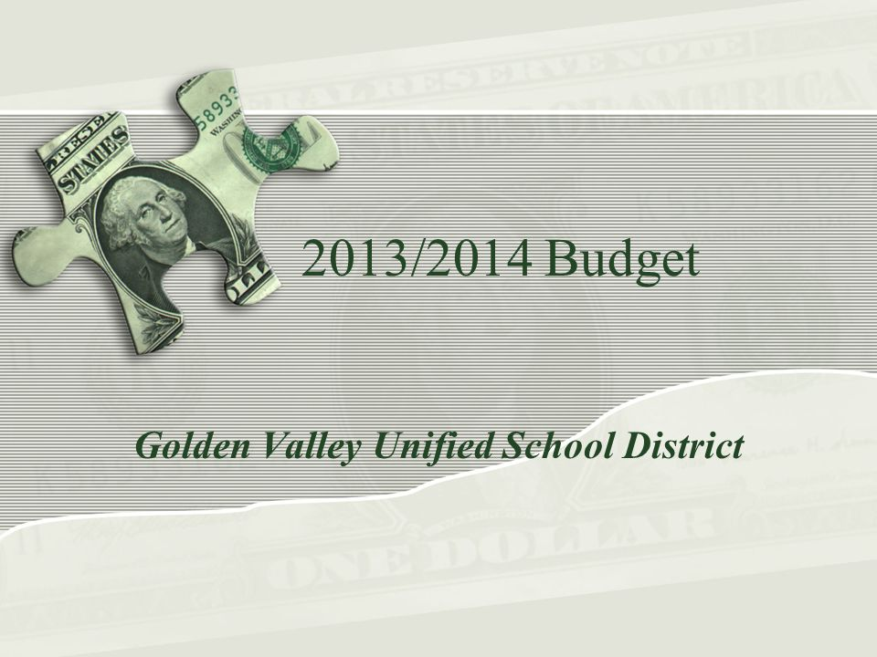 Additional 13/14 Revenue Assumptions One-time Common Core State Standard (CCSS) implementation revenues, must be expended by 2014/15 - $318,218 Increased lottery for ADA increase - $4,084 Restored Medi-cal revenues - $80,000 5% federal sequestration – ($19,636) Elimination of one-time flexed Deferred Maintenance – ($97,542) Elimination of shared nursing revenues from YUSD – ($48,485) End Break the Barriers PEP grant revenues – ($46,407)