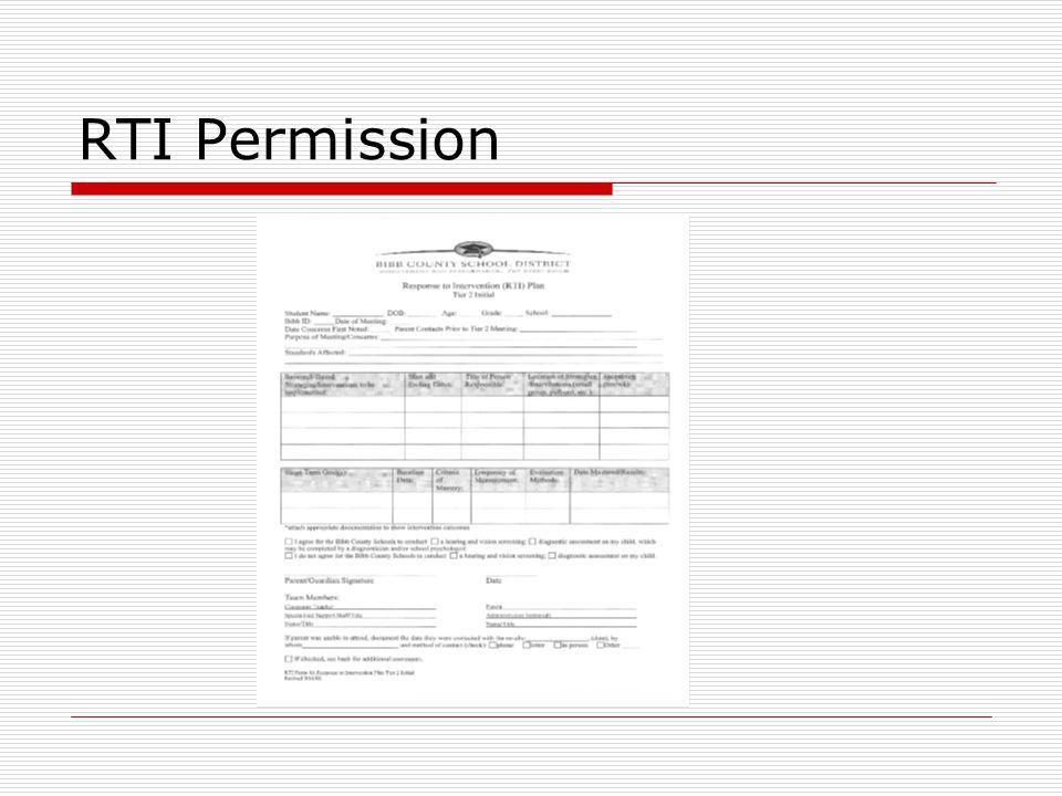 RTI Permission