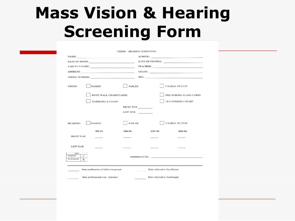 Reminders  You must do these screenings  Only those who completed current (13-14) training can administer screenings  Follow up occurs at the building level  YOU MUST TURN IN ALL SCREENING MATERIALS TO BROOKDALE RM #300 AT THE END OF THE SCHOOL YEAR