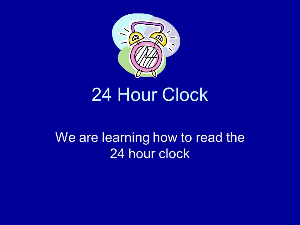 There are 24 hours in a day! The first 12 hours of the day are from: Midnight – Midday