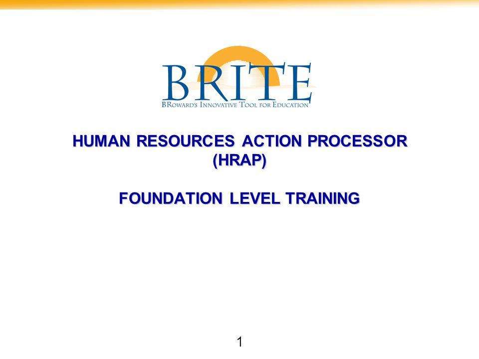 22HR Actions Processes Questions?