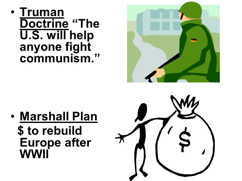 COMMUNISM VS. CAPITALISM USSR vs. America Containment (stopping the spread of communism)