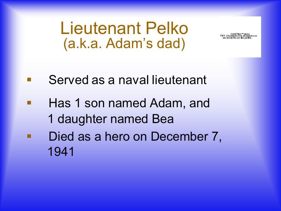 Lieutenant Pelko (a.k.a.