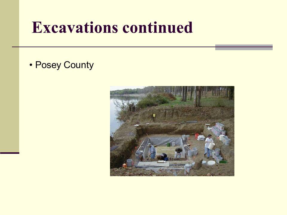 Survey Greene County in southwestern Indiana