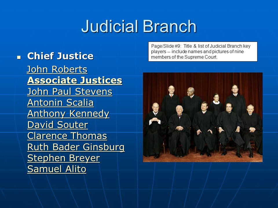 Powers of Judicial Branch Consider appeals from state courts Consider appeals from state courts Oversees decisions in congress Oversees decisions in congress To interpret and ensure proper application of the laws written by the legislative branch and enforced by the executive branch.