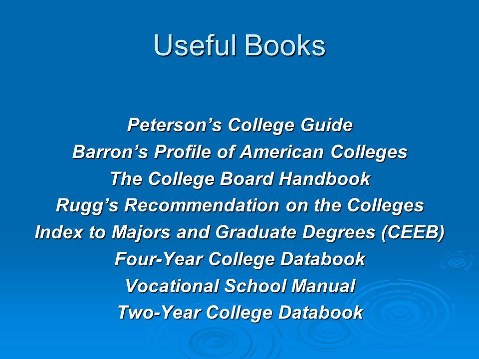 Continued… Kutztown University Average SAT = 1396 Average GPA = 3.23