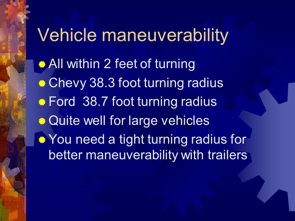 Reliability  All new vehicles so they have warranties on them.