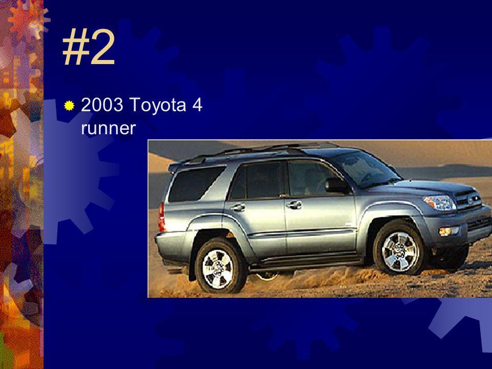 #1  2003 Chevy Tahoe
