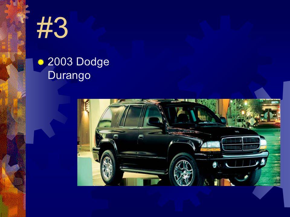 #2  2003 Toyota 4 runner