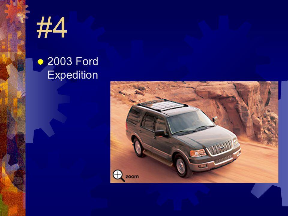 #3  2003 Dodge Durango