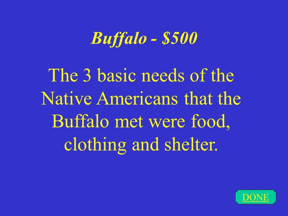 Buffalo - $400 DONE Flesh & Organs