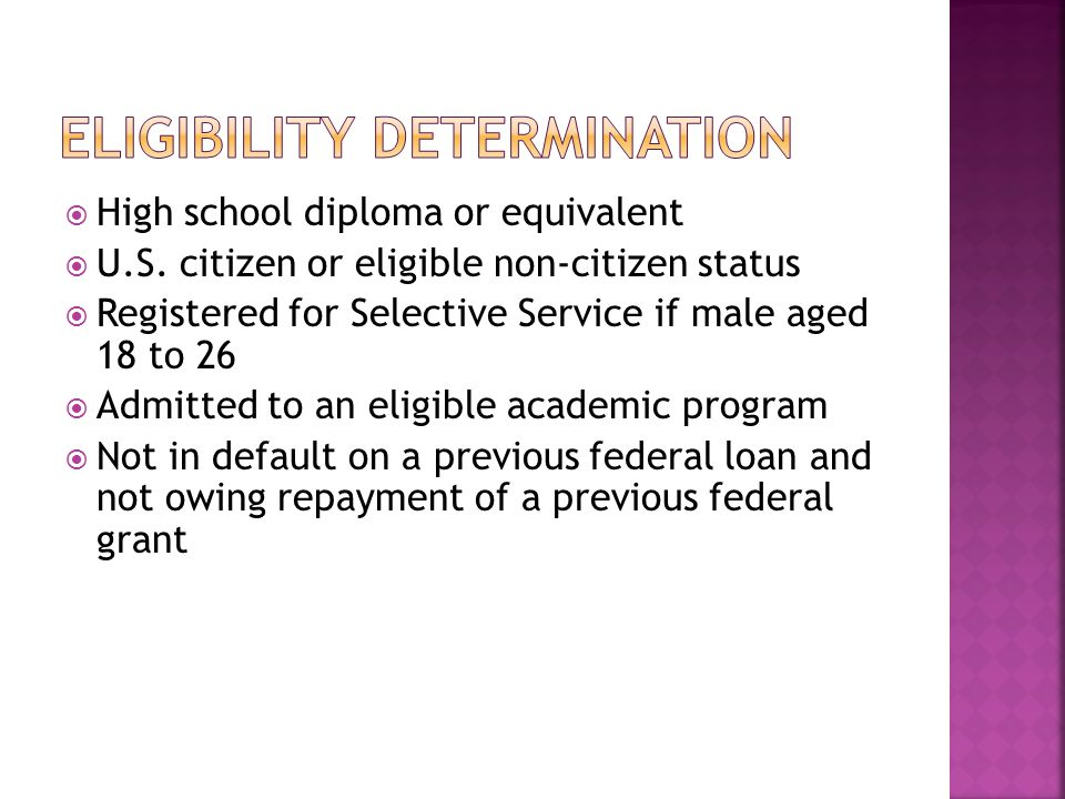  High school diploma or equivalent  U.S.