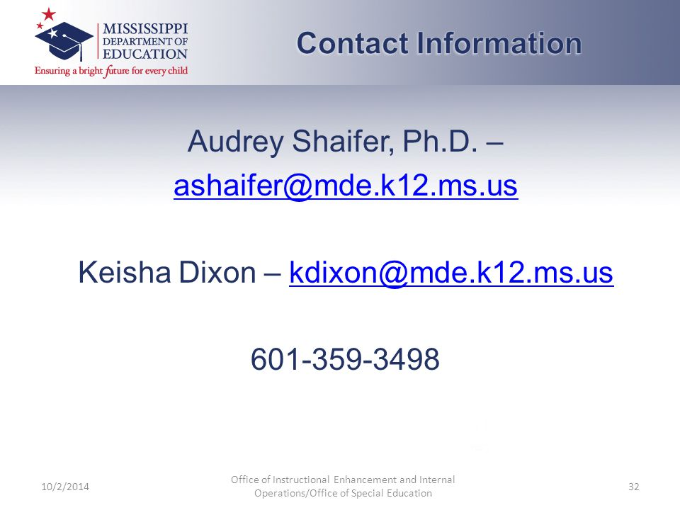 Audrey Shaifer, Ph.D.