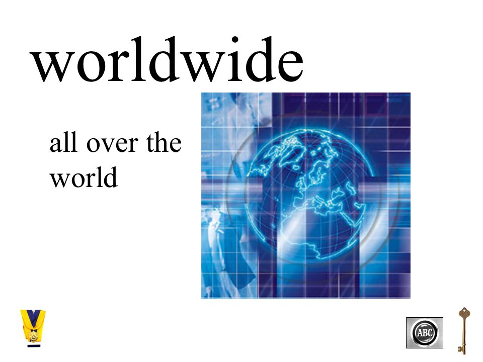 worldwide all over the world