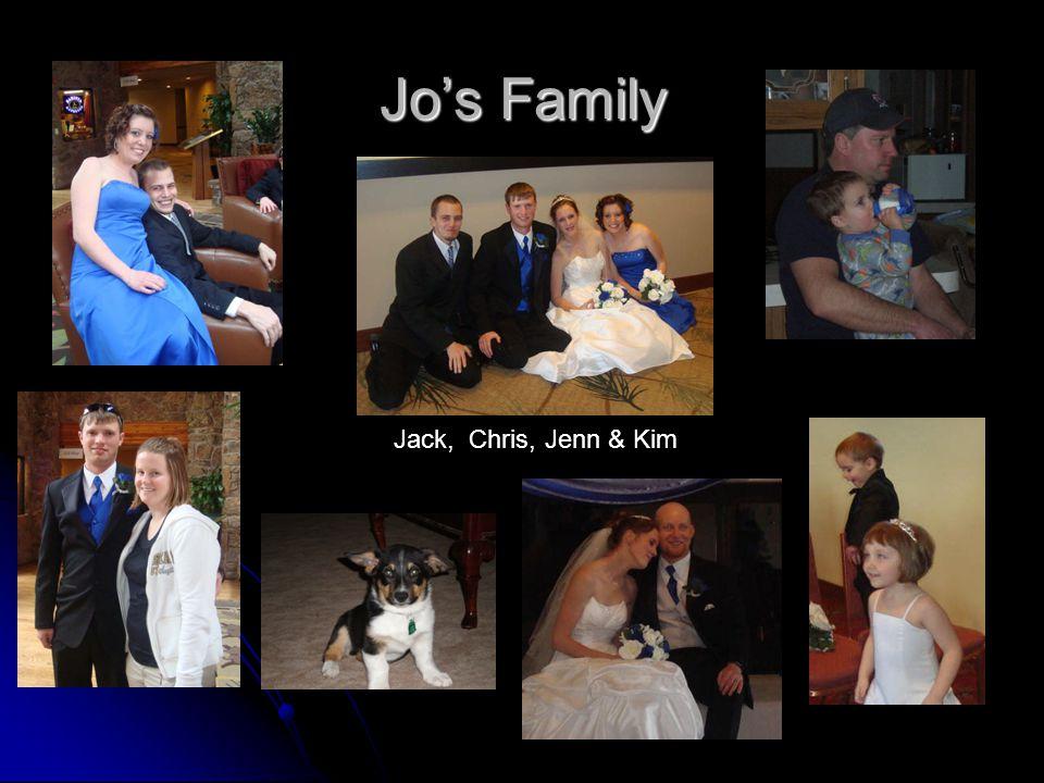 Jo's Family Jack, Chris, Jenn & Kim